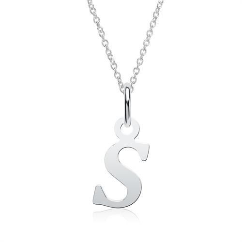 Buchstabenkette S aus 925er Silber