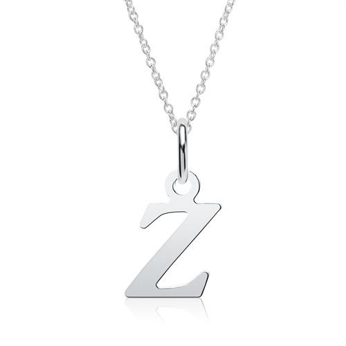 Kette Buchstabe Z aus Sterlingsilber