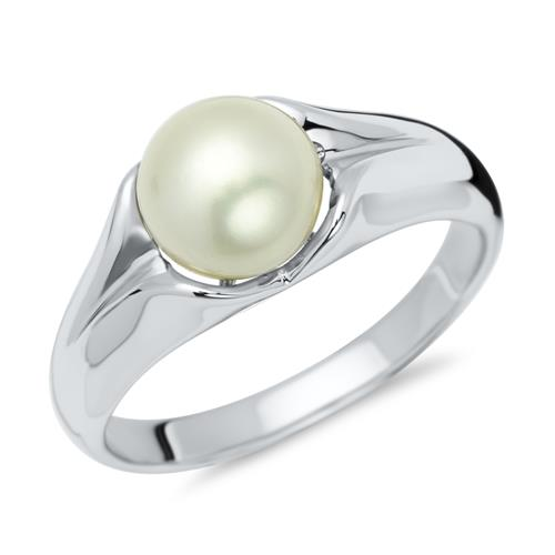 925 Silber Perlenring