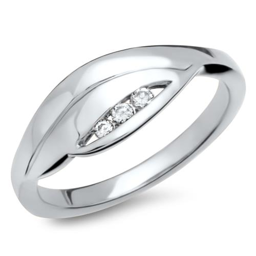 Modischer 925 Silberring Zirkonia