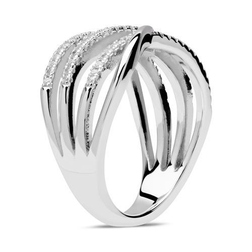 Ring Sterlingsilber Zirkonia