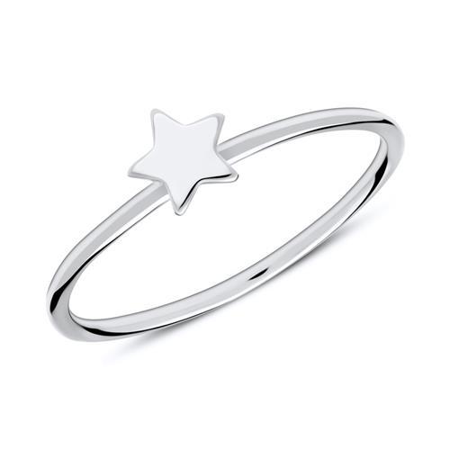 Ring Stern aus 925er Sterlingsilber