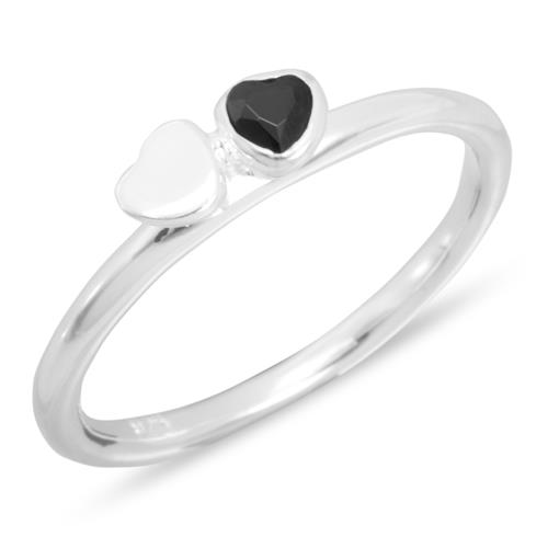 Stackring, Stapelring aus 925 Silber - STR0033