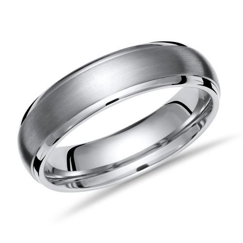 Exklusiver Ring Titan 6mm Breite matt