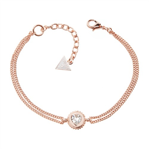 Armband Coins Of Love von Guess rosé UBB21532-S