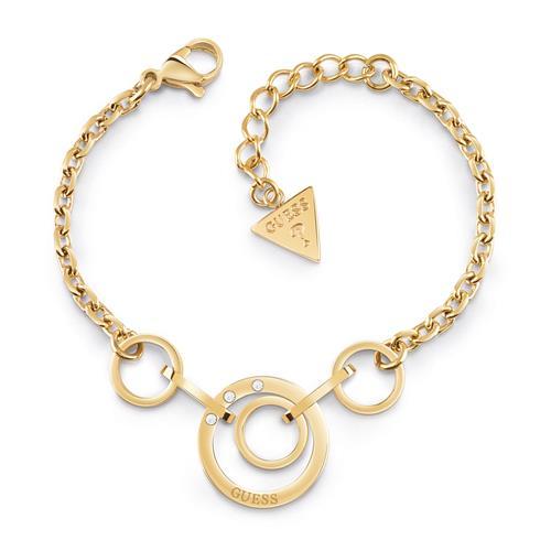 Armbaender - Armband Eternal Circles aus vergoldetem Edelstahl  - Onlineshop The Jeweller
