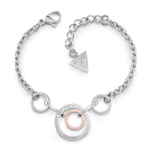 Armbaender - Eternal Circles Armband für Damen aus Edelstahl, rosé  - Onlineshop The Jeweller