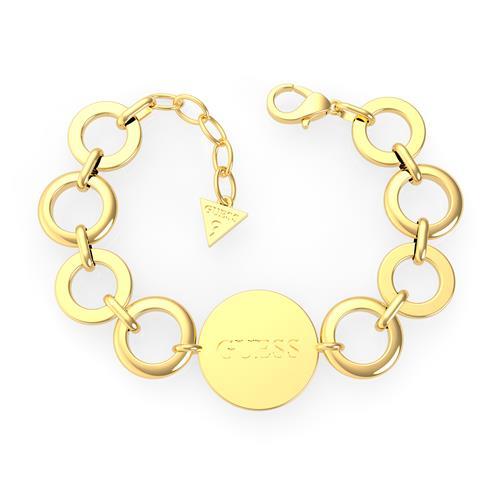 Armbaender - Gravierbares Damen Armband aus Edelstahl, vergoldet  - Onlineshop The Jeweller