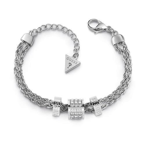 Armbaender - Damen Armband aus Edelstahl mit Swarovski Kristallen  - Onlineshop The Jeweller