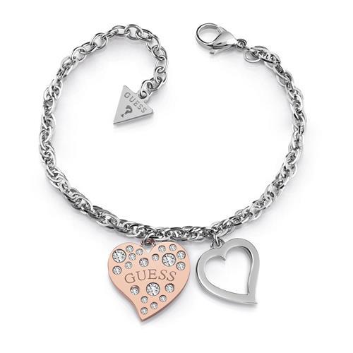 Gravierbares Armband Heart Warming Damen Edelstahl rosé