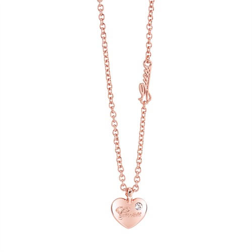 Guess-Kette Hearts And Roses roségold UBN21528