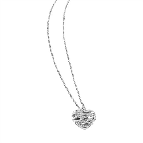 Kette Guess Wrapped With Love großes Herz  UBN21618
