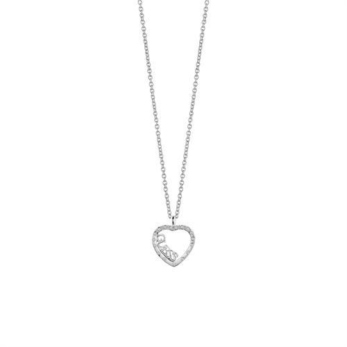 Herzkette Swarovski Kristalle