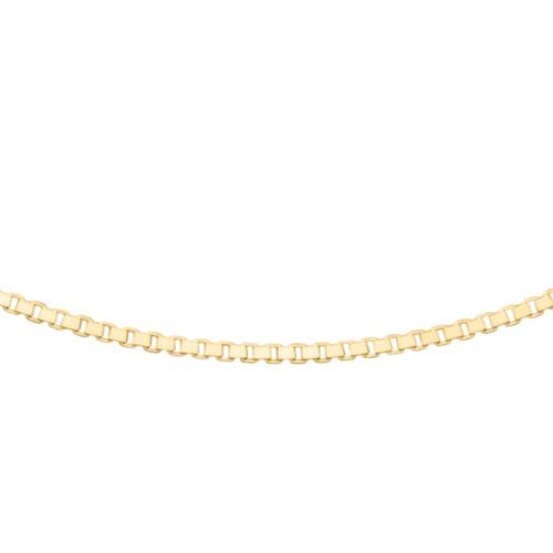 Venezianerkette 1,2 mm aus vergoldetem 925er Silber