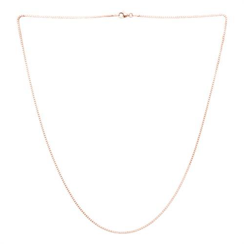 Venezianerkette 1,2 mm aus 925er Silber rosévergoldet