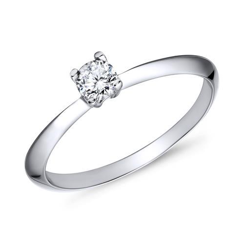 Verlobungsringe silber  Verlobungsring 925 Silber Zirkonia VR0009SL