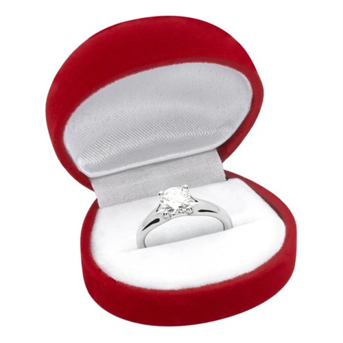 Verlobungsring 925 Silber Zirkonia