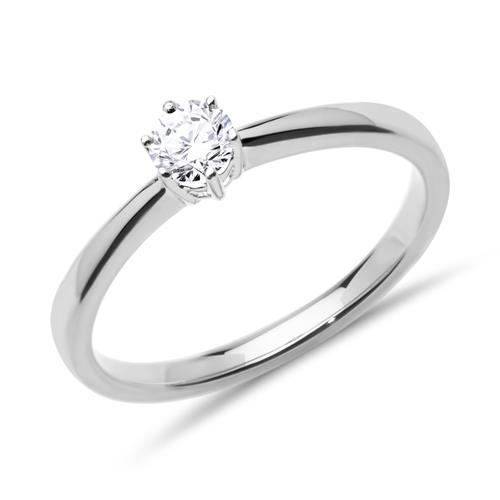 klassischer verlobungsring diamant gold vr0141 sl. Black Bedroom Furniture Sets. Home Design Ideas