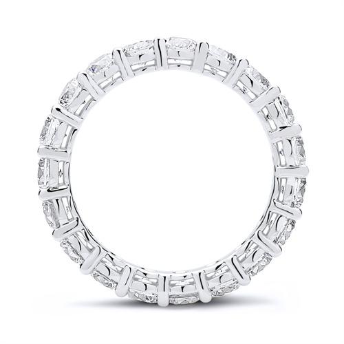 Eternityring aus 925er Silber mit Zirkonia