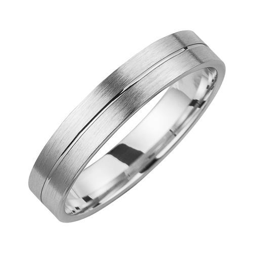 Eheringe mit Diamant Breite 4,5 mm