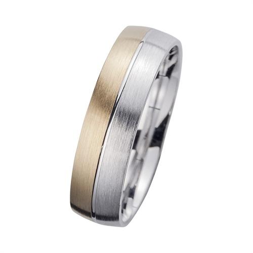 Eheringe mit Diamant Breite 6 mm