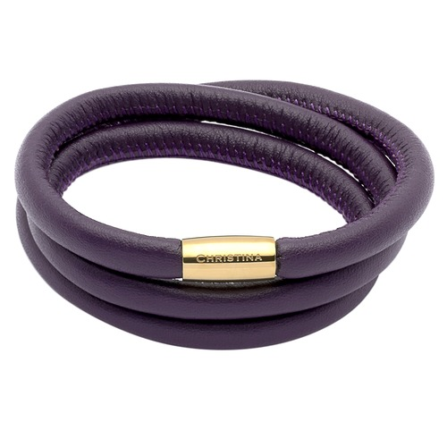 Lila Charm Armband