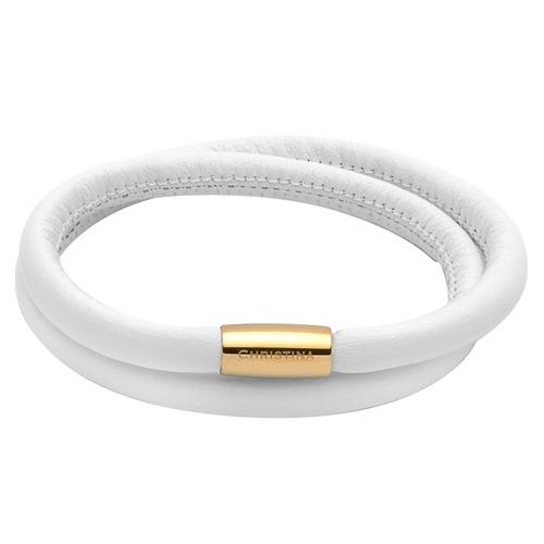 Armbaender - Weißes Charm Armband  - Onlineshop The Jeweller
