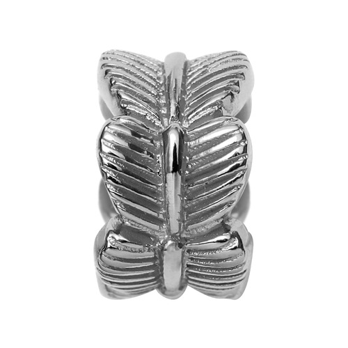 Endless Silber Charm Leaf 41156