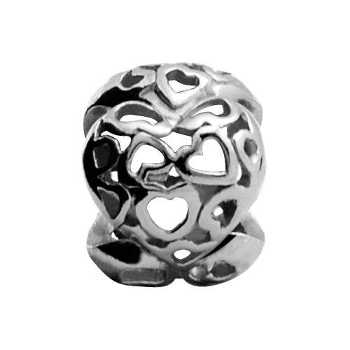 Endless Charm 925er Silber Heart Beat 41160