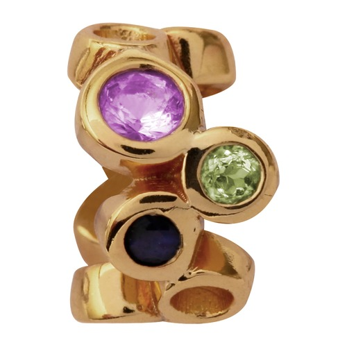 Endless Gold Charm Multi Gemstones 51303-1