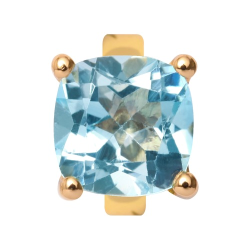 Endless Gold Charm Sky Topaz 25452