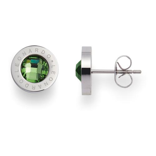 Ohrstecker Matrix grün