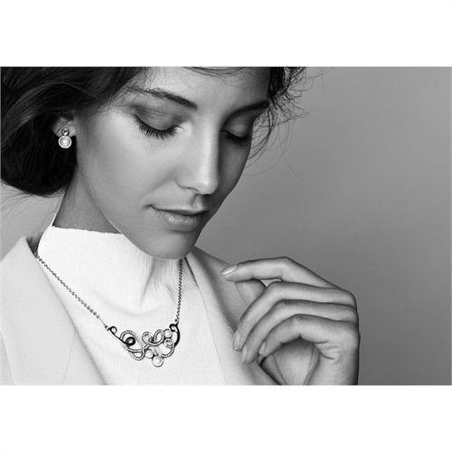 Elegante-Halskette Tortuoso