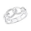 Ring für Damen aus Sterlingsilber mit Zirkonia