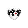 Disney Charm Mickey and Minnie forever 925er Silber