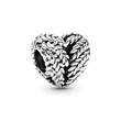 Herz Charm Icon Of Nature aus Sterlingsilber