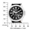 Armbanduhr für Herren mit Eco Drive Ewiger Kalender