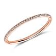 Eternityring Diamantring roségold 750er Gold