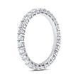 Eternity Ring 950er Platin 28 Diamanten
