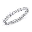 Eternity Ring 585er Weißgold 28 Diamanten