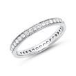 Eternity Ring 585er Weißgold 39 Diamanten