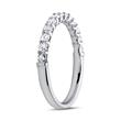 Memoire Ring 950er Platin 13 Diamanten