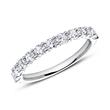 Eternity Ring 750er Weißgold Diamant