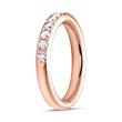 Eternity Ring 750er Roségold 13 Brillanten