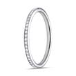 Ring Full Eternity 950er Platin 49 Diamanten