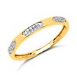 Ring 585er Gold mit 30 Brillanten