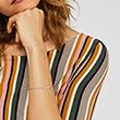 Armband Flow für Damen aus Sterlingsilber