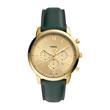 Armbanduhr Neutra für Herren mit grünem Lederband