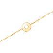 Damenarmband Kreis aus 9K Gold