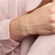 Armband Herz für Damen aus 375er Gold, gravierbar